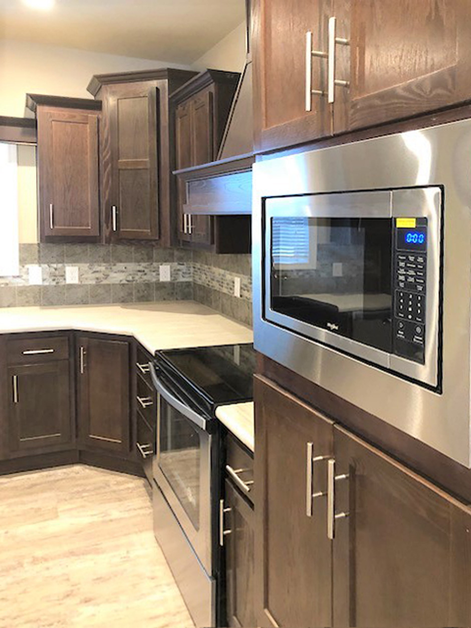 Skyline Homes - Springview Series - Kitchen - manufactured and