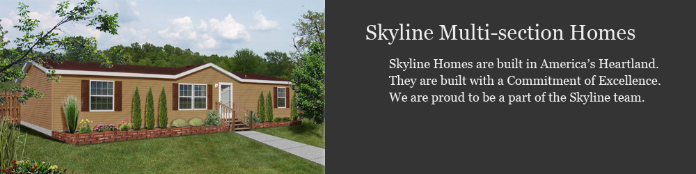 Skyline Multi-section Modular Homes