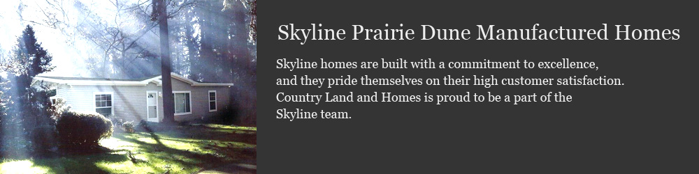 Skyline Prairie Dune Manufactured Homes